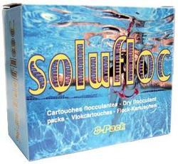 Коагулянт неорганический в пакетиках Melpool Solufloc 8 pack Melspring