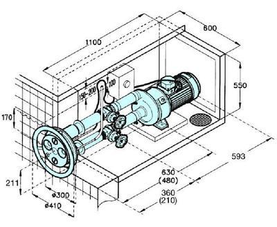 Противоток Jet-Swim 2000 78м3/ч комплект Pahlen