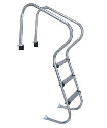 Лестница для удобного спуска 5 ступеней с накладкой люкс FM205 PoolKing