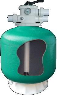 Фильтр Д450мм, 8м3/час, верх.подкл. EPW POOL KING (без вентиля)