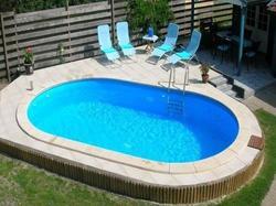 Бассейн овальный Oval  700х350х120 см Summer Fun
