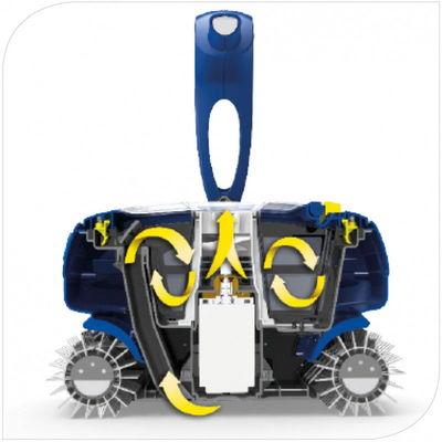 Робот пылесос CyclonX RC 4300, блок упр. с базой, кабель 15м до 50м2