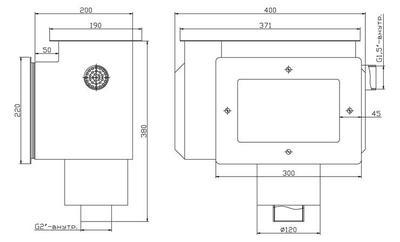 """Скиммер с системой электронного контроля уровня воды, 2""""ВР, пленка Xenozone"""