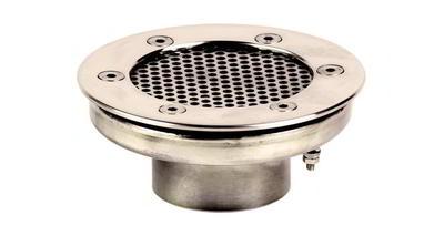 Водозабор с сетчатой крышкой д.120, пленка, нерж. AISI-304 Xenozone