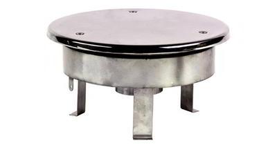 Водозабор с антивихр. крышкой д.250, плёнка, нерж. AISI-304 Xenozone