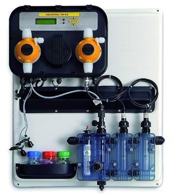 Станция контроля и дозации PH/Rx 5 л/ч на панели A-POOL SYSTEM Aqua