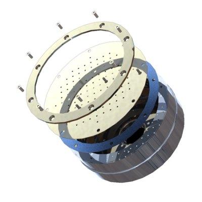 Плато аэромассажное круглое D=480 мм Аквасектор (универсал.)