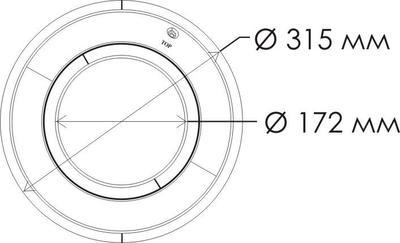 Прожектор 28 Вт Aquaviva LED001 - 546led