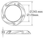 Прожектор 28 Вт Aquaviva LED005- 546led