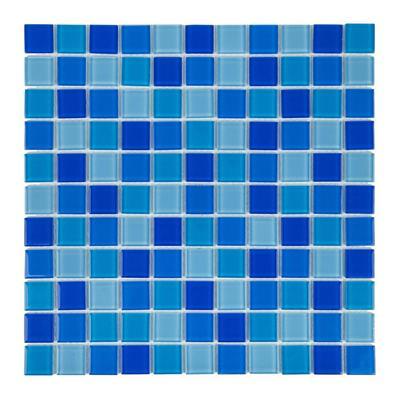 Мозаика стеклянная Сristall Mix Jamaika светлая