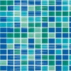 Мозаика стеклянная Mix зеленый