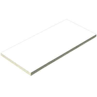 Плитка керамическая белая Aquaviva 240x115x9 мм