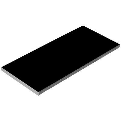 Плитка керамическая черная Aquaviva 240x115x9 мм