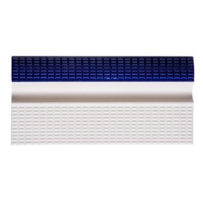 Плитка бордюрная с поручнем кобальт+белый Aquaviva 240x115x30 мм