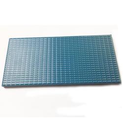 Плитка противоскользящая керамика голубая Aquaviva 240x115x10 мм