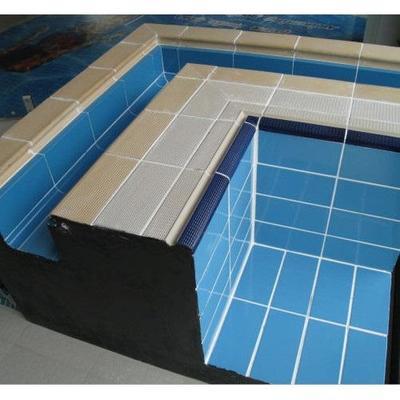 Плитка фарфоровая голубая глазурованная 250x125x8 мм Pera Seramic