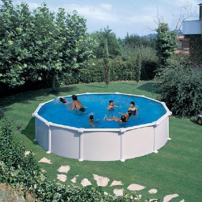 Бассейн круглый 550х132 см (белый, распорки) Dream Pool Gre