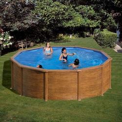 Бассейн круглый 350х132 см (дерево) Dream Pool Gre