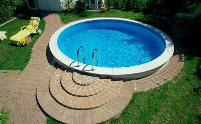 Бассейн сборной Fun 420х120 см Future pool