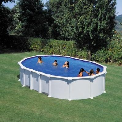 Бассейн овальный 730х375х132 см (белый) Dream Pool Gre