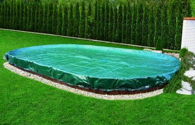 Покрывало брезентовое для бассейна Summer Fun овал 8.00 x 4.20 м