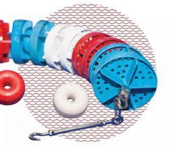 Дорожка разделительная для бассейна Ф-150мм L-50м МОСКВА (Стандарт FINA)