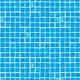 Лайнер Cefil мозаика голубая Gres 1,65x25,2 м (41,58 м.кв)