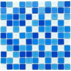 Мозаика стеклянная Aquaviva Cristall Bagama светлая DCM304