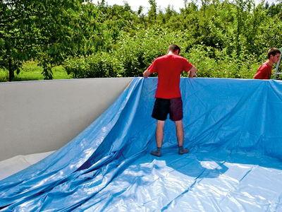 Чашковый пакет овал 5.25 х3.20 х 1.2 м для бассейна Summer Fun